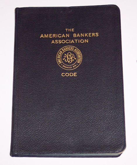 American Bankers Association Code