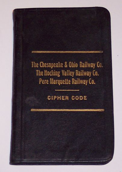 The Chesapeake & Ohio Railway Co. Cipher Code