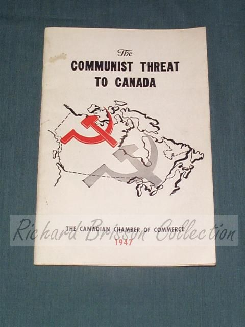 The Communist Threat to Canada