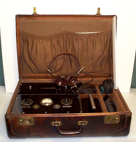 Model 114 Surveillance Briefcase by Federal Laboratories - 1939