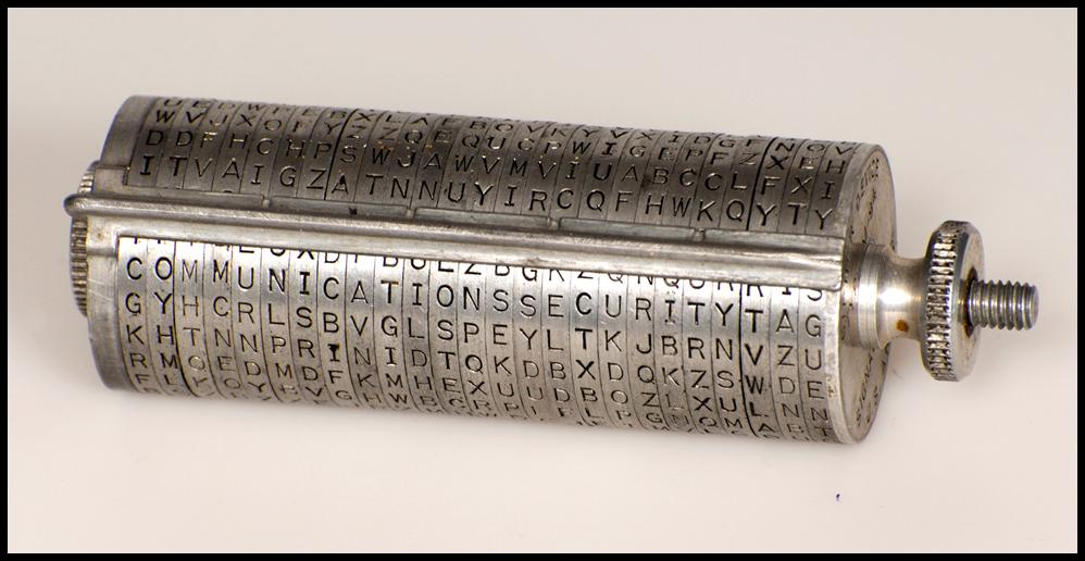 US Army Cylindrical Cipher Device
