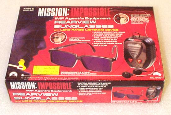 Mission Impossible: Rearview Glasses with Long-Range Listening Device