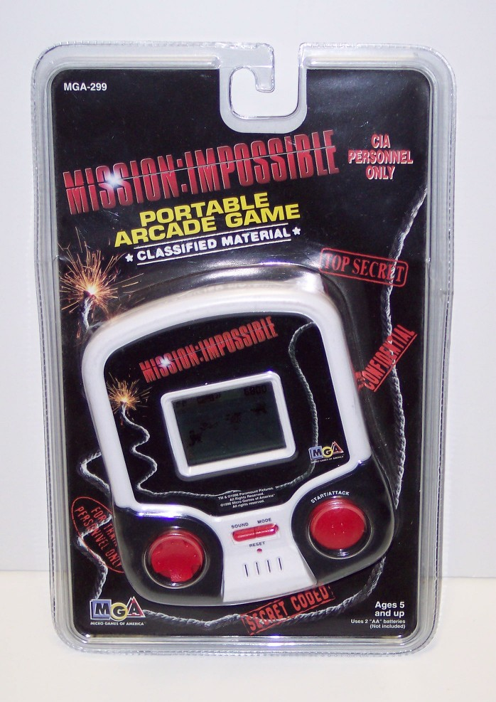 Mission Impossible: Portable Arcade Game