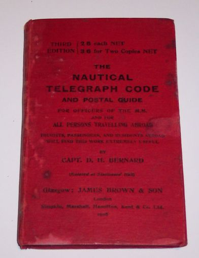 The Nautical Telegraphic Code