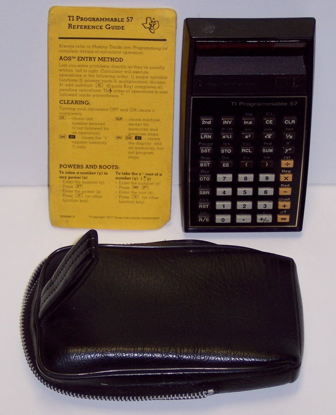Texas Instruments Programmable 57