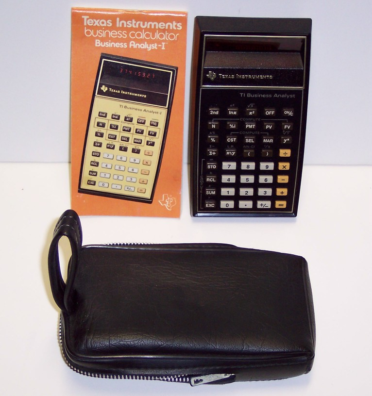 Texas Instruments Business Calculator