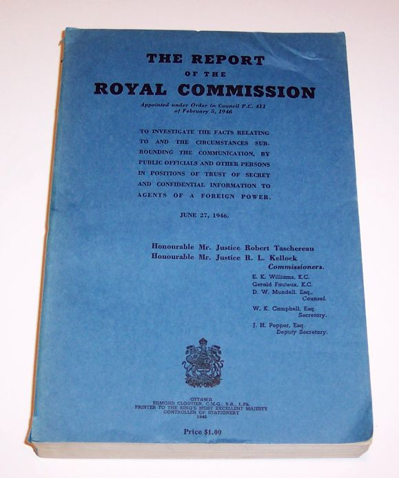 Report of the Royal Commission