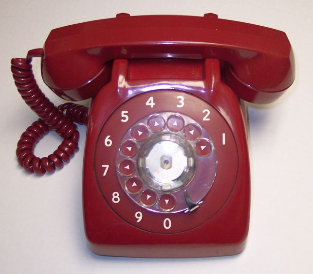 North American Pulse-Dial Red Phone