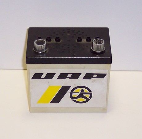 UAP Radio shaped as Battery