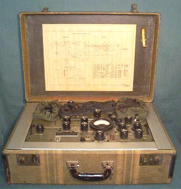 OSS AN/PRC-1 Suitcase Radio