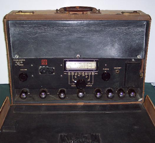 OSS SCR-504-A Direction Finding Receiver (BC-792)